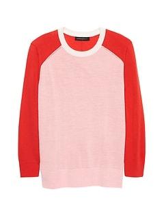 Washable Merino Raglan Sweater