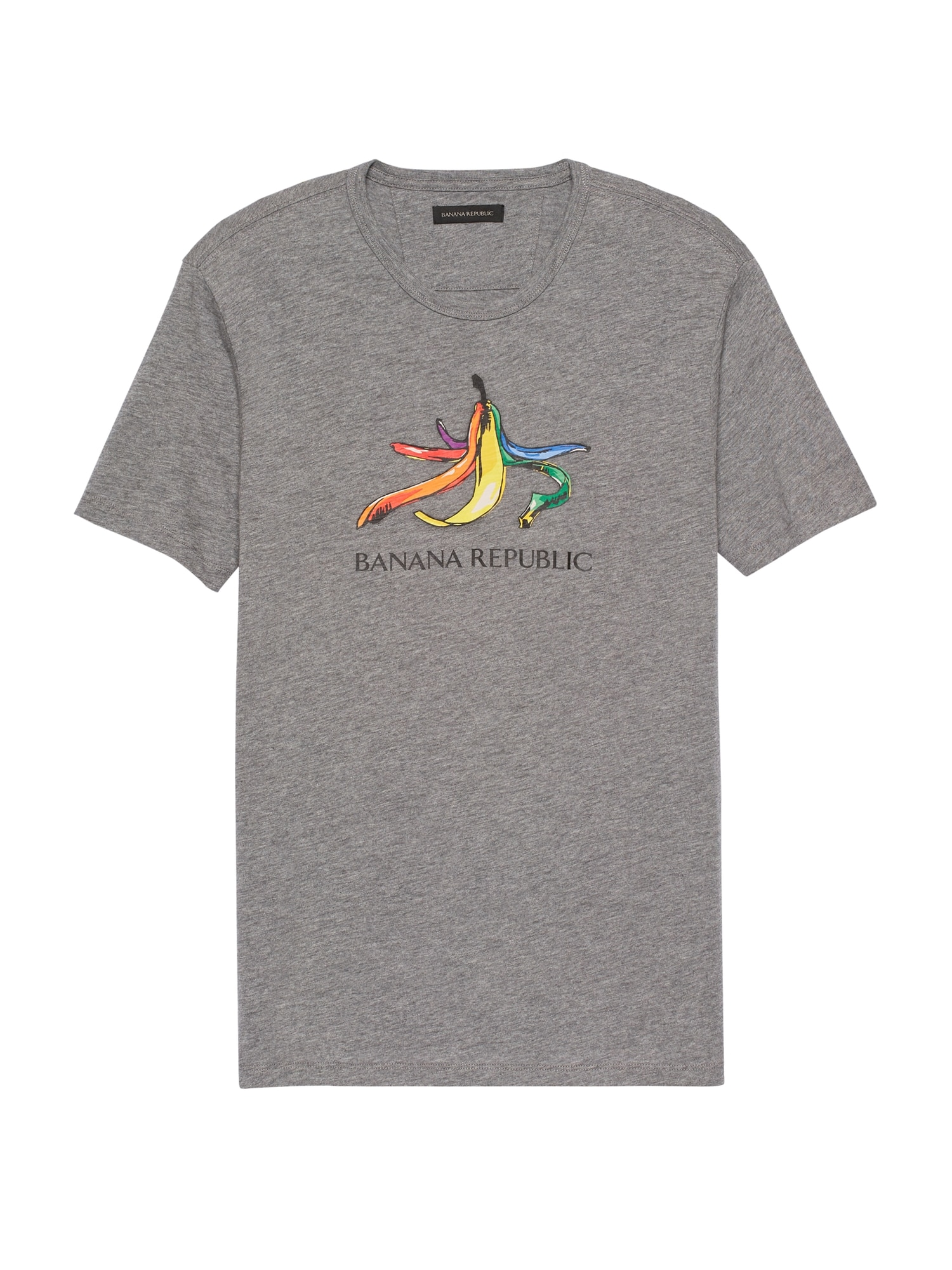 79846a36 Pride 2019 Rainbow Banana T-Shirt (Men's Sizes) | Banana Republic