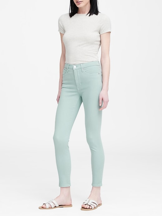 High Rise Skinny Jean by Banana Repbulic