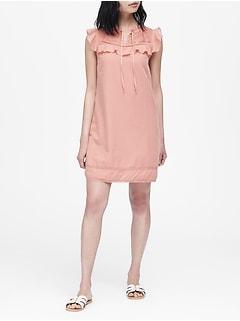 Cotton-TENCEL™ Shift Dress