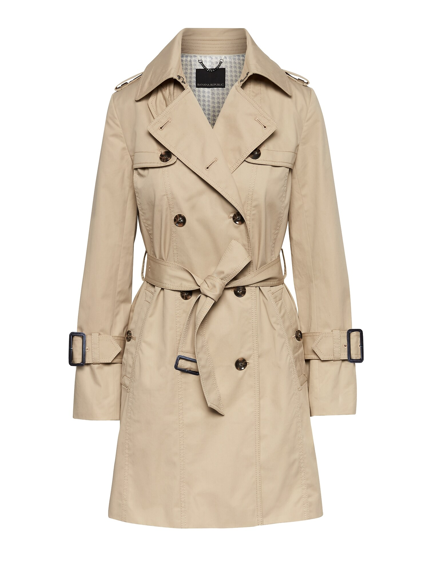 d491737db2b Water-Resistant Classic Trench Coat
