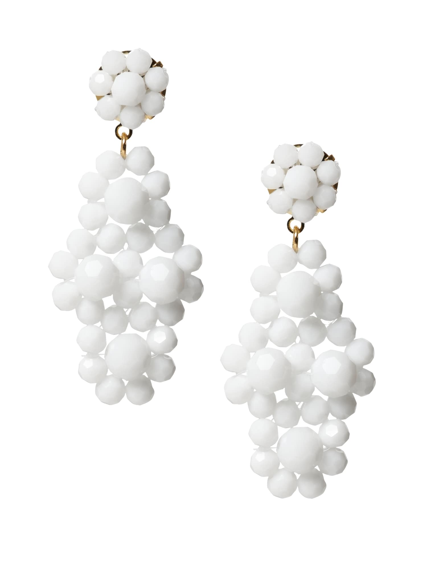 cff0be239c9c43 Summer Beads Statement Drop Earrings | Banana Republic