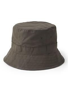 Waxed Canvas Bucket Hat