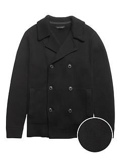 SUPIMA® Cotton Peacoat Sweater