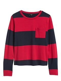 Petite Cotton Crew-Neck T-Shirt