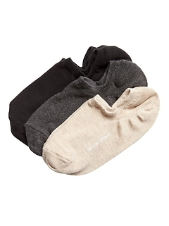 No-Show Sneaker Sock 3-Pack