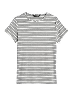 Fitted Crew-Neck T-Shirt