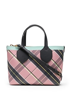 Plaid Mini Tote