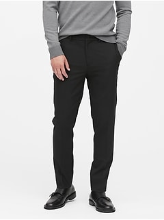 Slim Tapered Smart Weight Performance Suit Pant