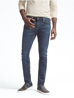 Skinny Rapid Movement Denim Medium Wash Jean