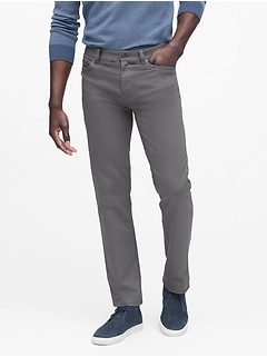 Slim Heathered Traveler Pant