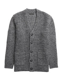 Heritage Oversized Cardigan Sweater
