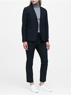 Packable Performance Collarless Blazer