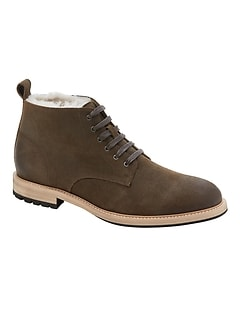 Arley Shearling Suede Boot