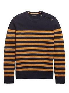 Heritage Mariner-Stripe Sweater