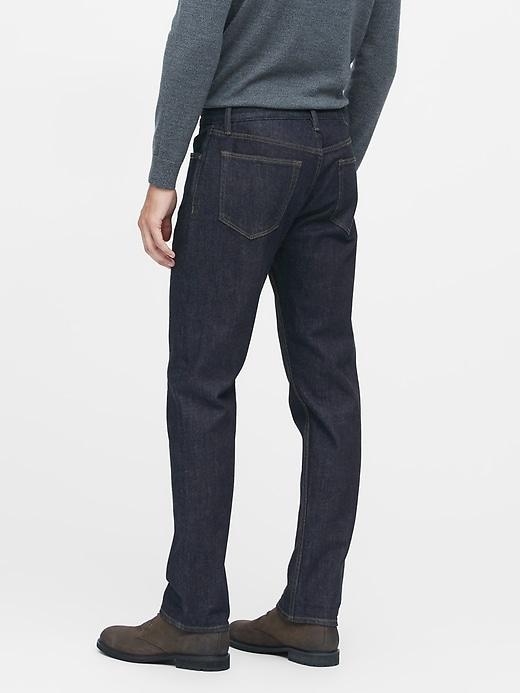 Straight Dark Wash Jean