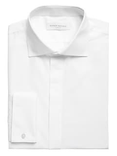 Slim-Fit Non-Iron Tuxedo Dress Shirt
