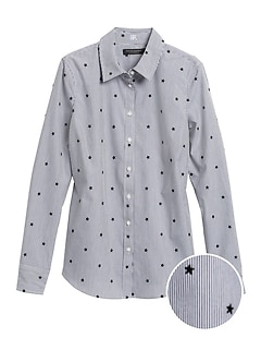 Riley Tailored-Fit Star Shirt