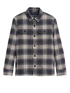 Heritage Plaid Shirt Jacket