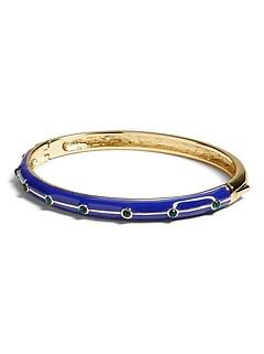 Stone & Enamel Bracelet