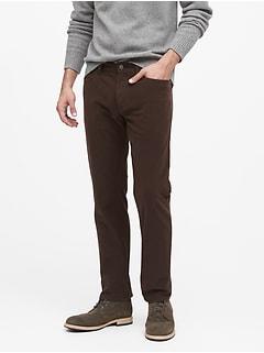Slim Brushed Traveler Pant
