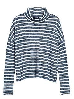 Luxespun Boxy Cropped T-Shirt