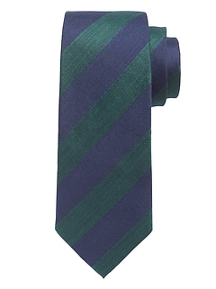 Regimental Stripe Nanotex® Tie