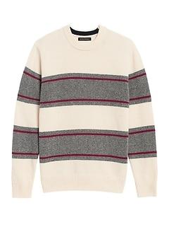 Birdseye Stripe Sweater