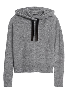 Petite Aire Hoodie Sweater