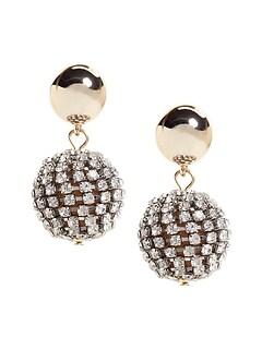 Fireball Drop Earrings