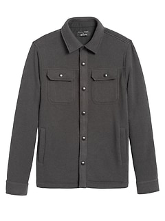 Polartec® Sweater Fleece Shirt Jacket