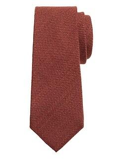 Tweed Herringbone Nanotex® Tie