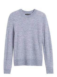 Petite Aire Crew-Neck Sweater