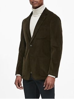 Heritage Slim Italian Corduroy Blazer