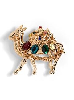 Camel Brooch