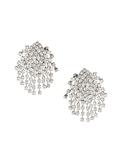Holiday Glitz Statement Earrings