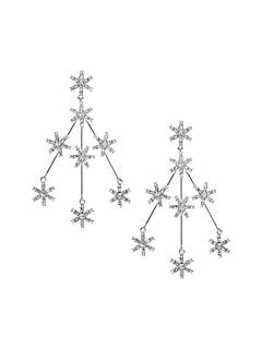 Snowflake Statement Earrings