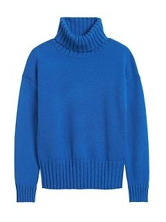 Petite Chunky Turtleneck Sweater
