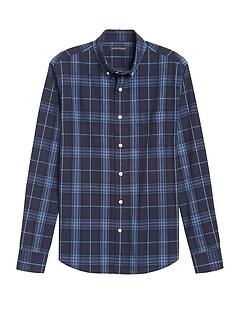 Untucked Standard-Fit Luxe Poplin Shirt