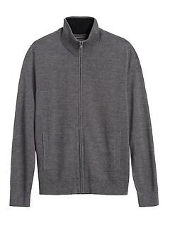 Italian Merino Sweater Jacket