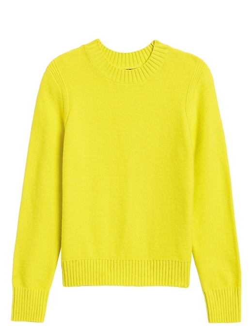 Supersoft Cotton Crew-Neck Sweater