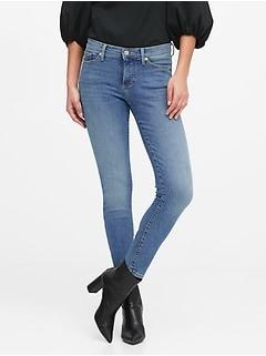Petite Mid-Rise Skinny Ankle Jean