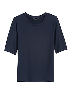 Threadsoft Crew-Neck T-Shirt
