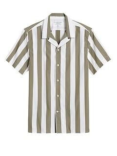Slim-Fit Luxe Poplin Camp Shirt