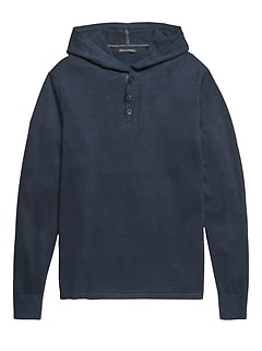 Performance Linen Sweater Hoodie