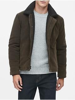 Italian Moleskin Deck Jacket