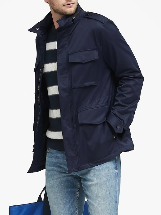 Water-Resistant Field Jacket