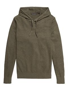 SUPIMA® Cotton Sweater Hoodie