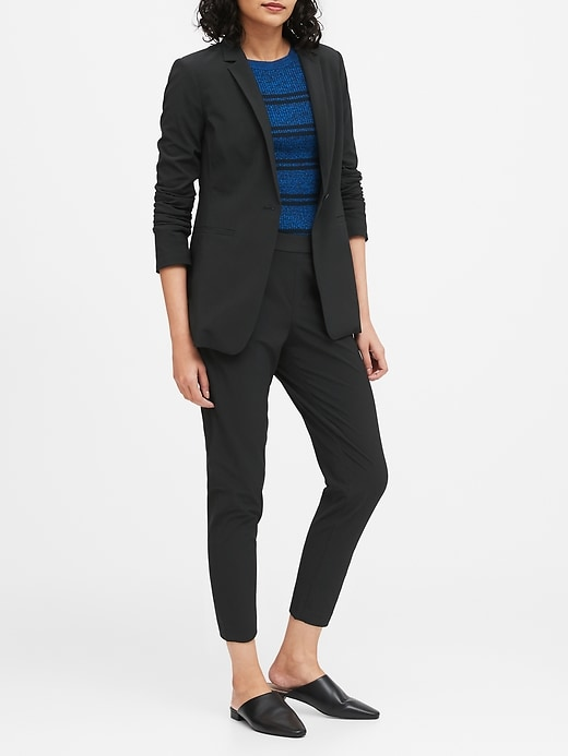 Petite Long & Lean-Fit Flyweight Blazer