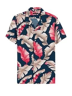 Slim Soft Camp Shirt